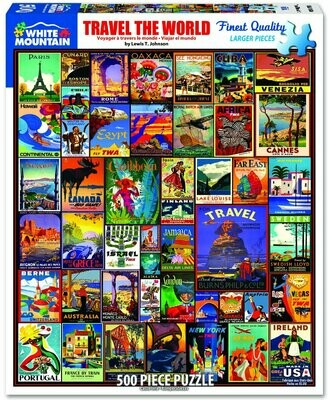 Travel the World Puzzle 500