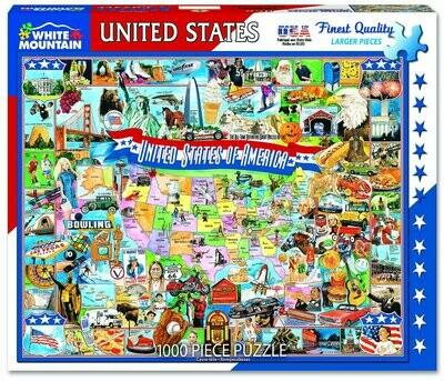 United States of America Puzzle - 1000