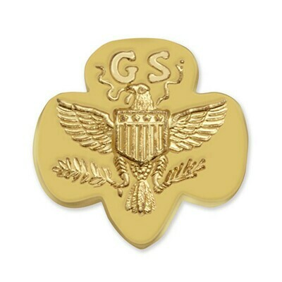 Traditional GS Membership Pin Gold