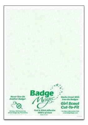 Badge Magic - Cut-to-fit sheet - Girl Scouts