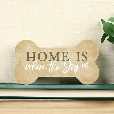 Home Is Where The Dog Is Block