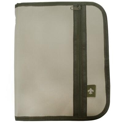 BSA Handbook Cover Khaki/Green