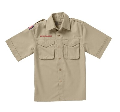 BS Youth Tan Microfiber Shirt