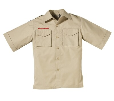 BS Youth Tan Polyester Shirt