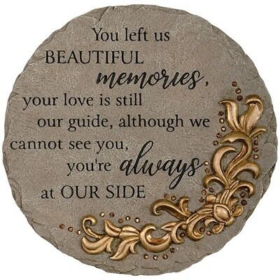 Garden Stone - You left us beautiful memories
