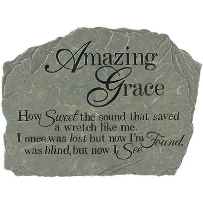 Garden Stone - Amazing Grace