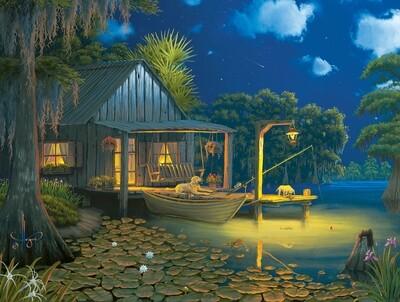 Bayou Moon - 500 piece