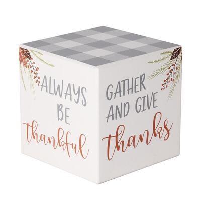 Fall Sayings GW Cube