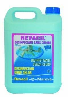 REVACIL - 5 L - Biguanide PHMB - Bactéricide puissant sans chlor