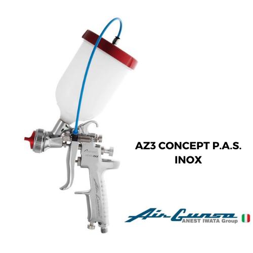 AIRGUNSA AZ3 CONCEPT P.A.S. INOX