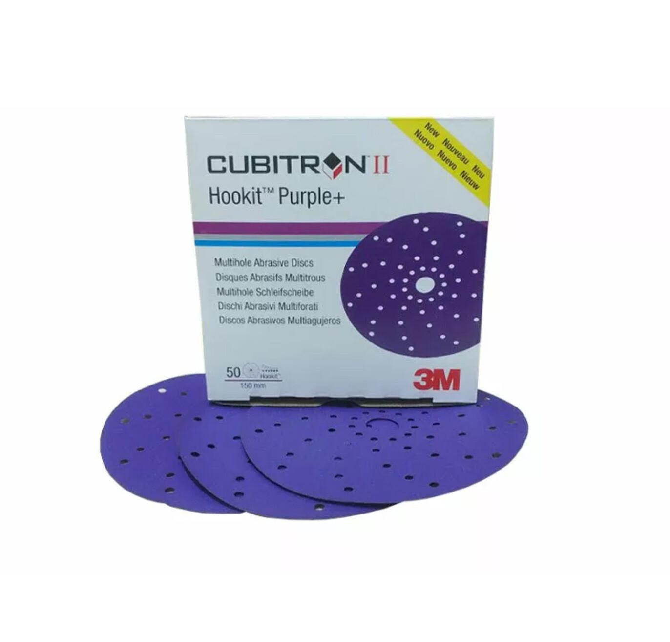 3M™ Cubitron™ II Hookit™ Disco abrasivo 737U Confezione 50Pz