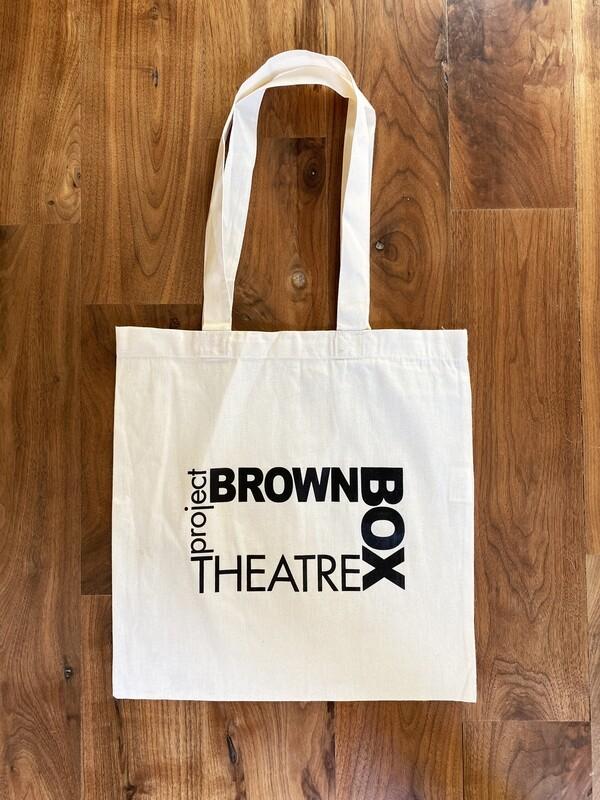 Brown Box Tote Bag