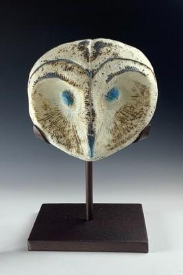Supernal - Cast Glass Owl