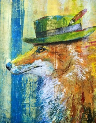 Fox in the Green Velvet Hat
