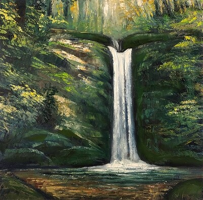 Tranquil Waterfall