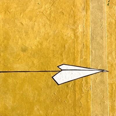 Mini-Plane (Yellow / Blue)