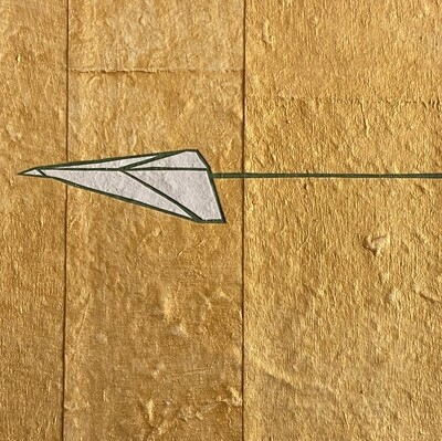 Mini-Plane (Gold / Blue)