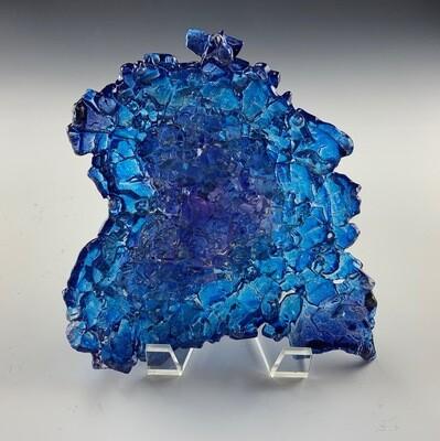 Urban Geode Heart (Sapphire)