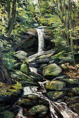 Secret Falls, Nantahala Wilderness