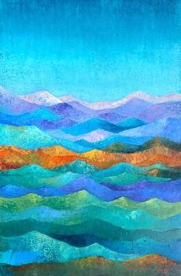 Healing Earth #92, Mountain Waves