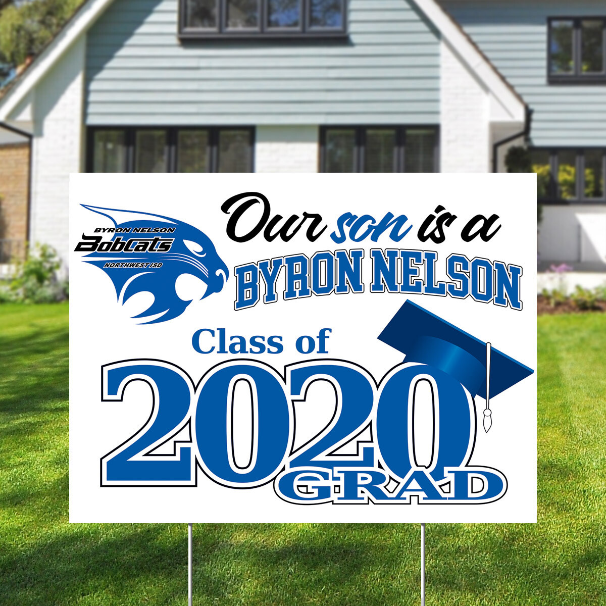 Byron Nelson High School (4 styles)