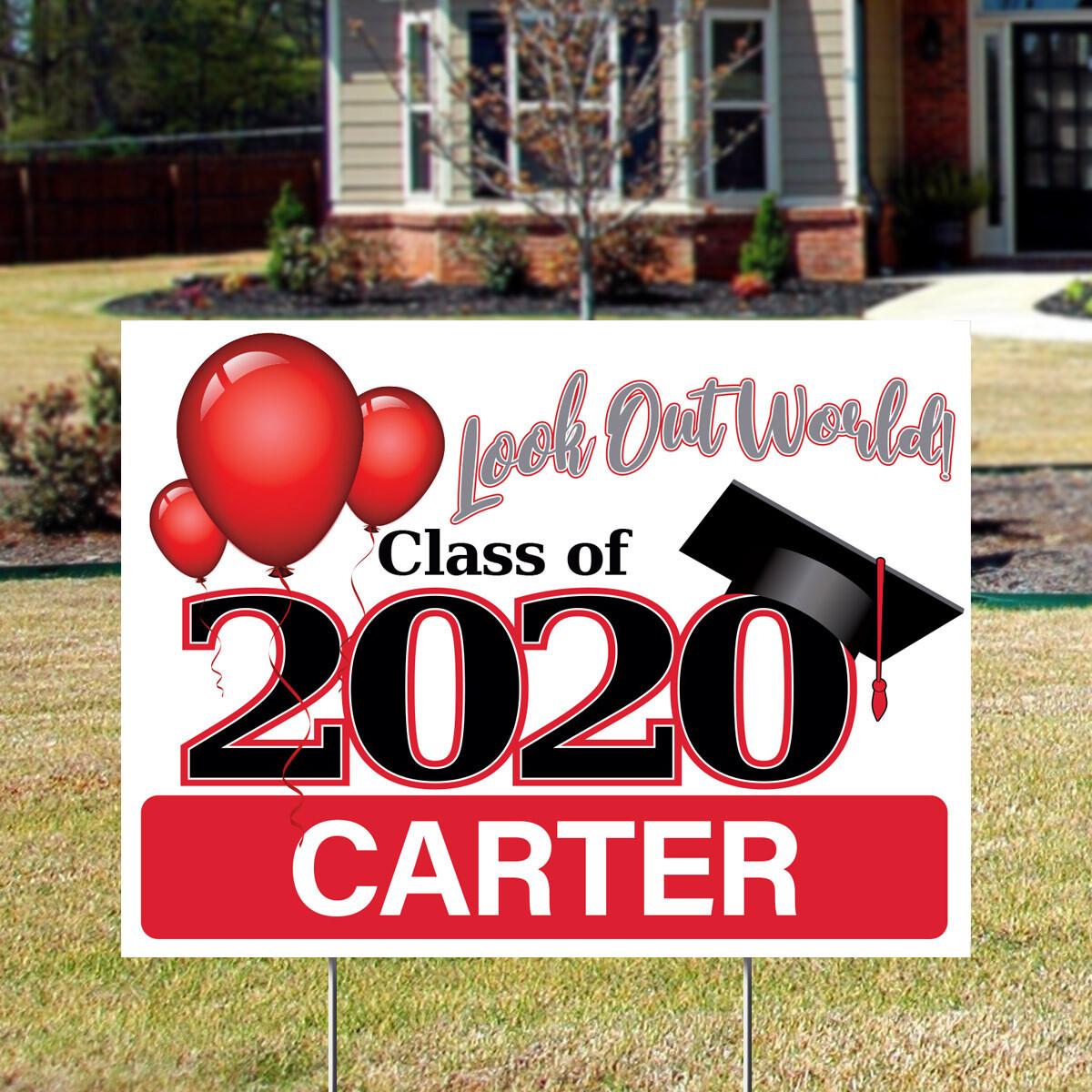 2020 Grad (Generic) Yard Signs