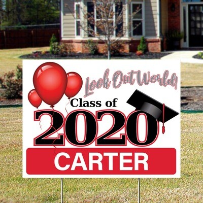 2020 Grad (Generic) Yard Signs