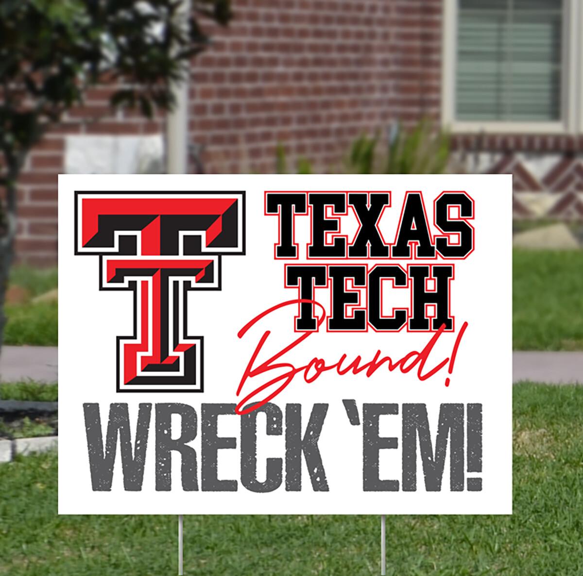 Texas Tech Yard Signs