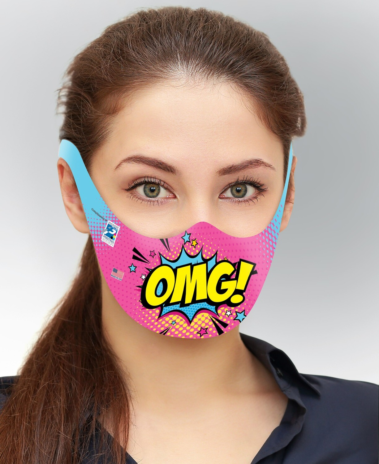 Disposable Paper Face Masks - Adult (25 Pk.)