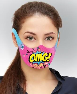 Disposable Paper Face Masks - Adult (25 Pk.)