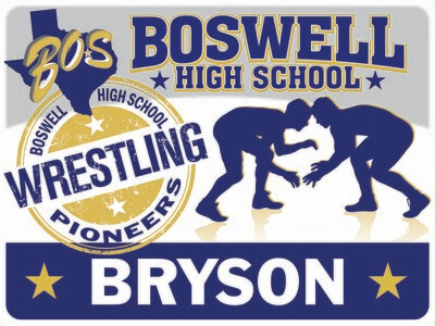 Boswell Wrestling-Personalized