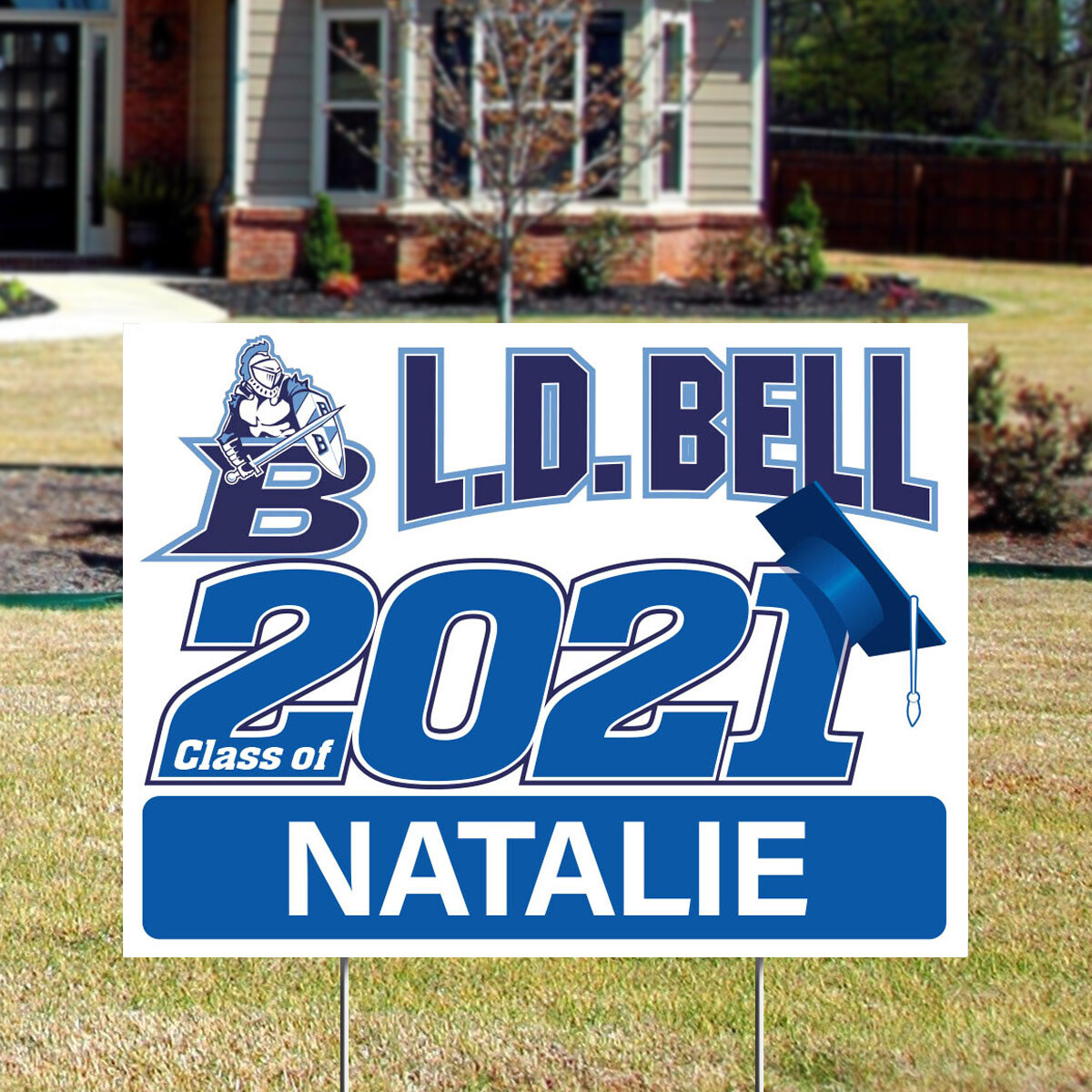 L.D. Bell High School (4 styles)