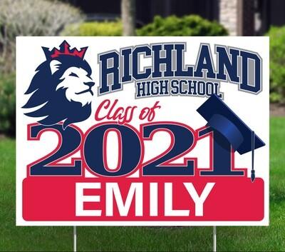 Richland High School (4 styles)