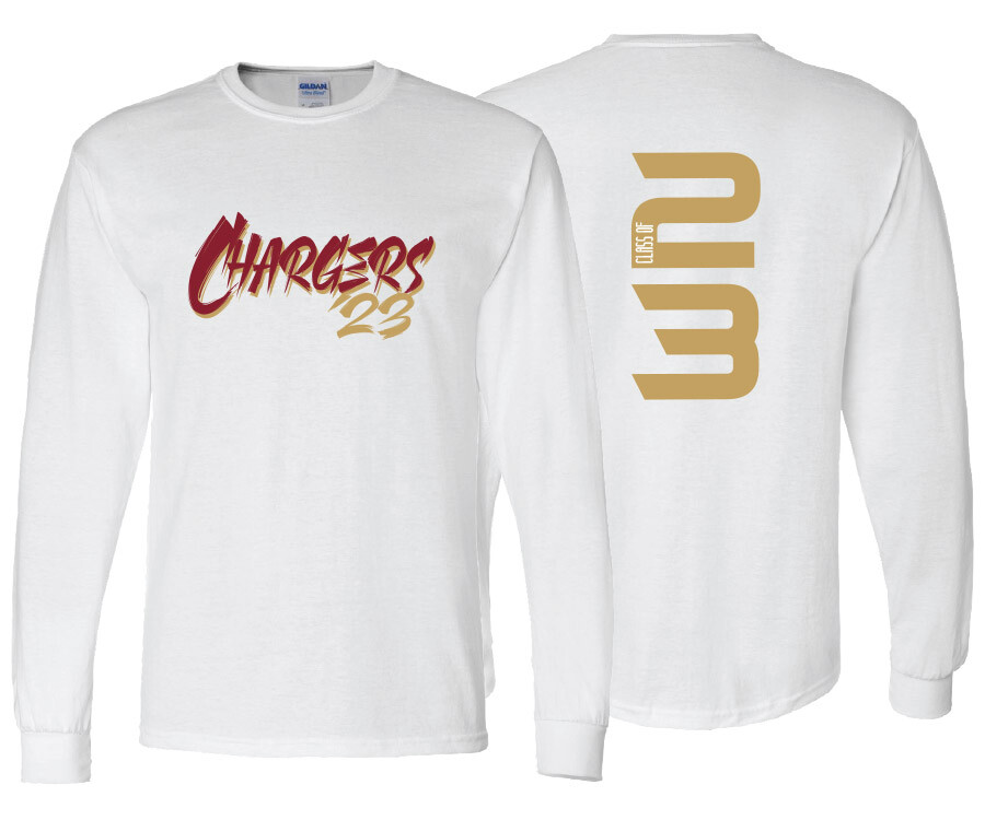 Chargers '23 Long Sleeve DryBlend T-Shirt