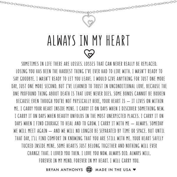 BA Always In My Heart Necklace
