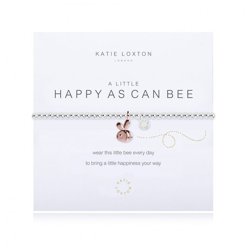 Katie a little happy as can bee