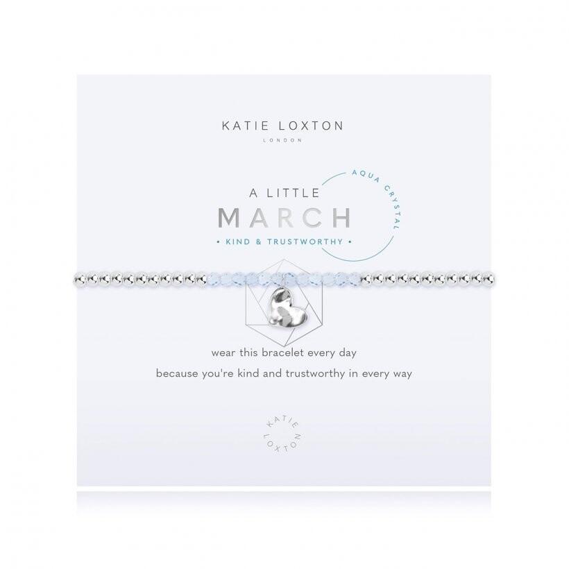 Katie A Little March Bracelet