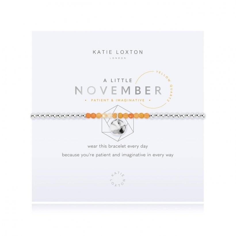 Katie A Little November Bracelet