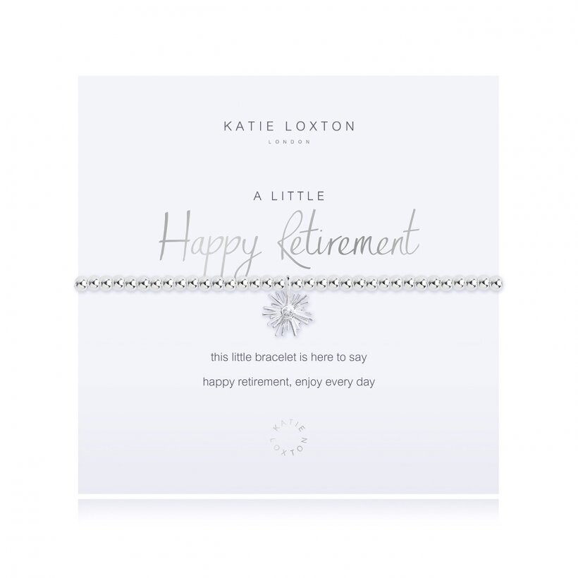 Katie Loxton Happy Retirement Bracelet Littles