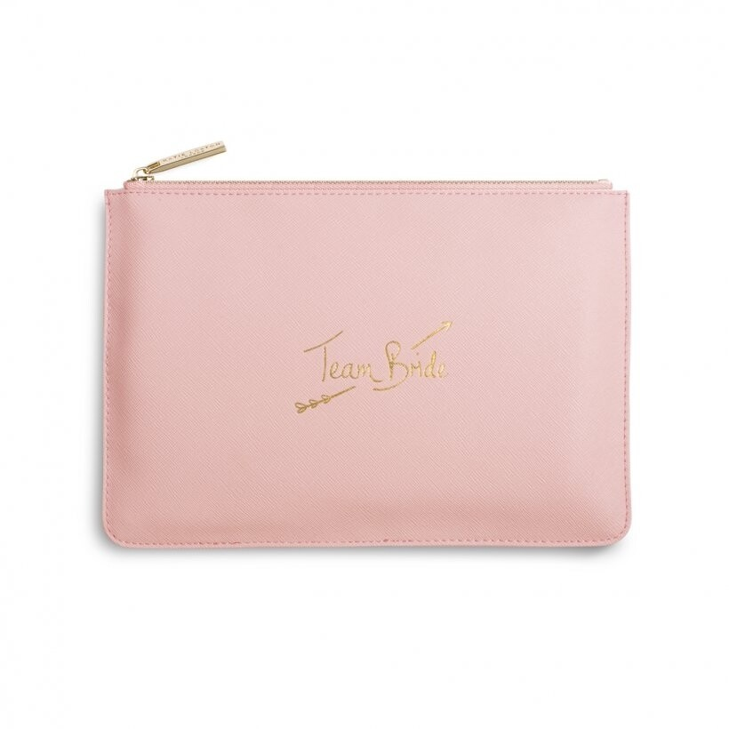Katie Perfect Pouch team bride pink