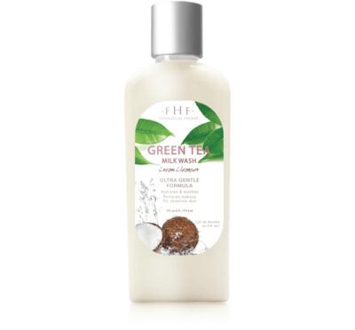 FHF Green Tea Milk Face Wash
