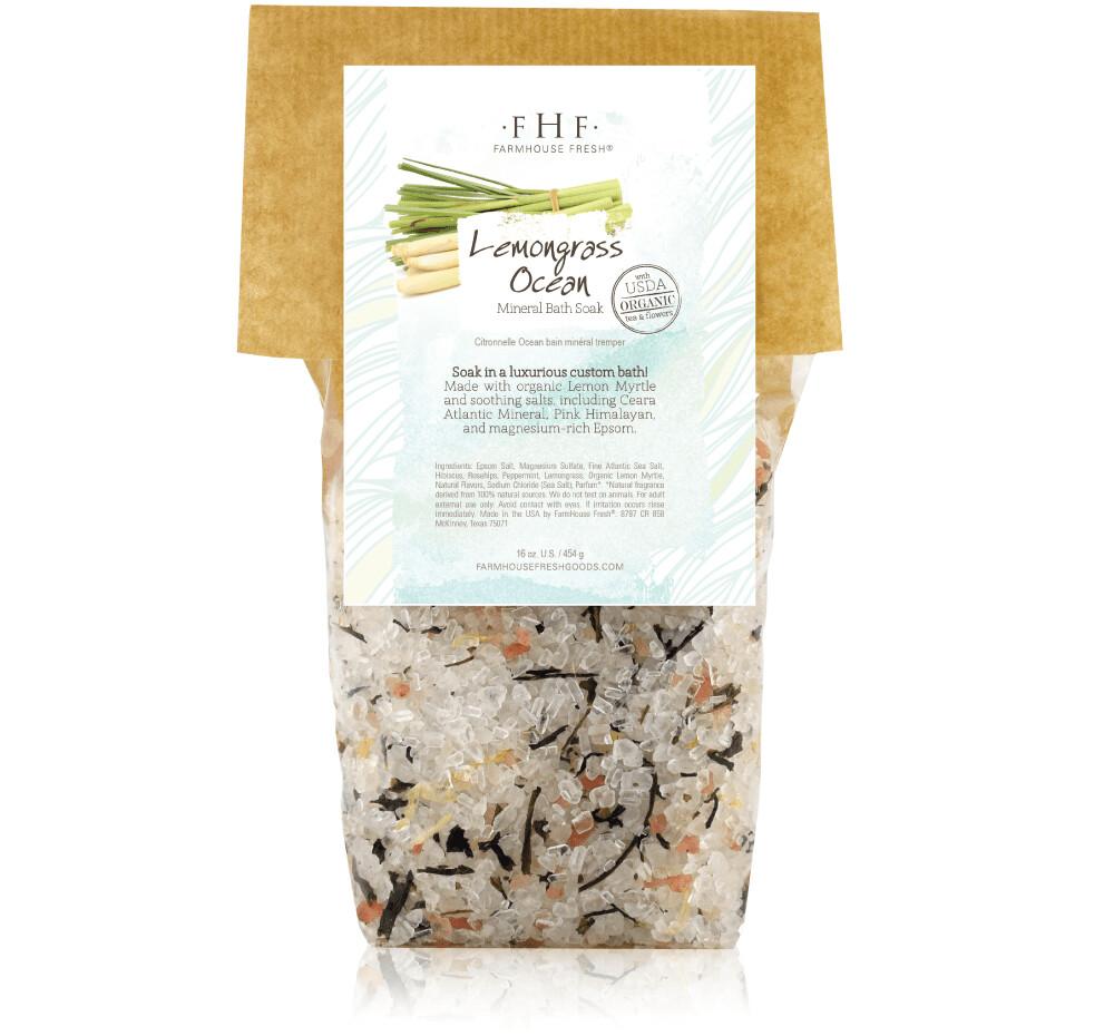 FHF Lemongrass Ocean Mineral Bath Soak