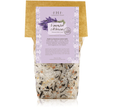 FHF Lavender And Hibiscus Mineral Bath Soak