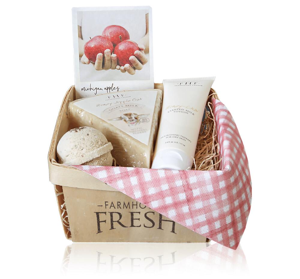 Farmhouse Fresh  Apple Harvest Basket