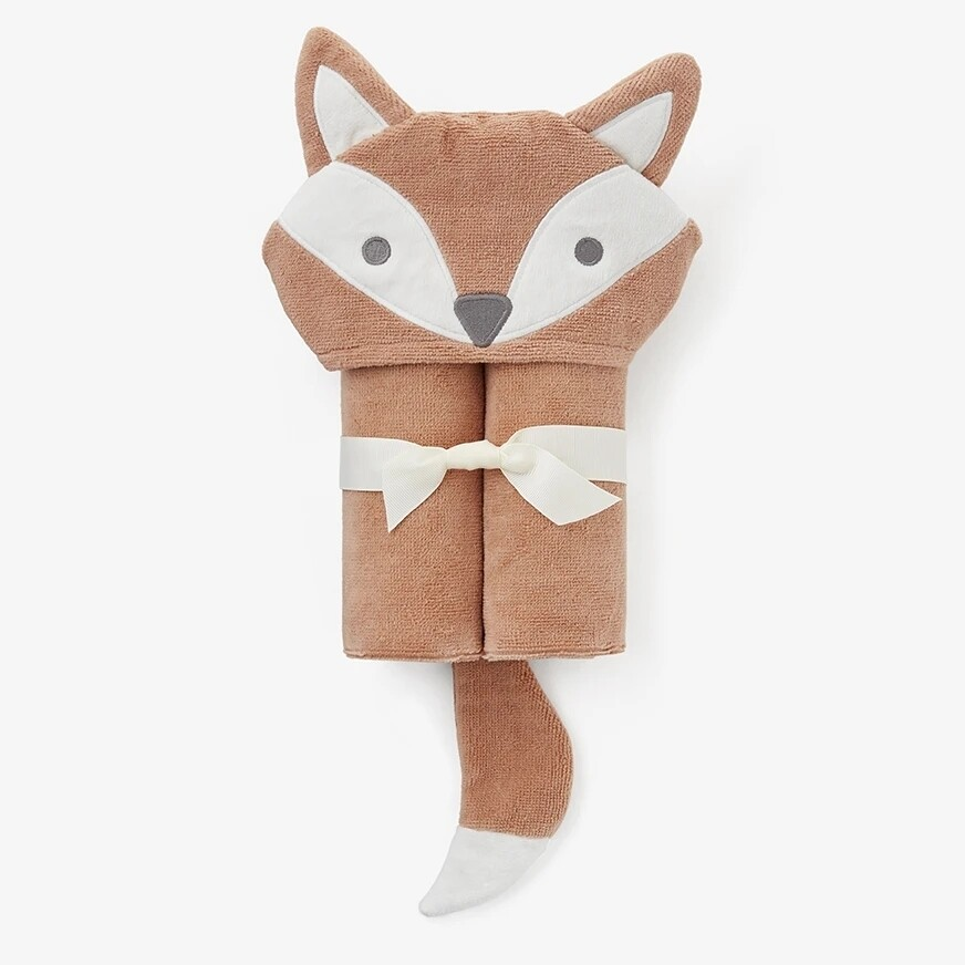 Elegant Baby Bath Wrap Fox