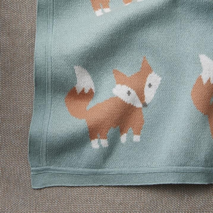 Elegant Fox Blanket