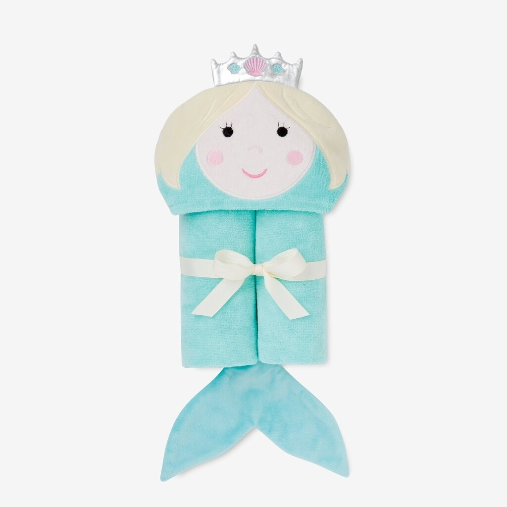 Elegant Mermaid Baby Bath Wrap
