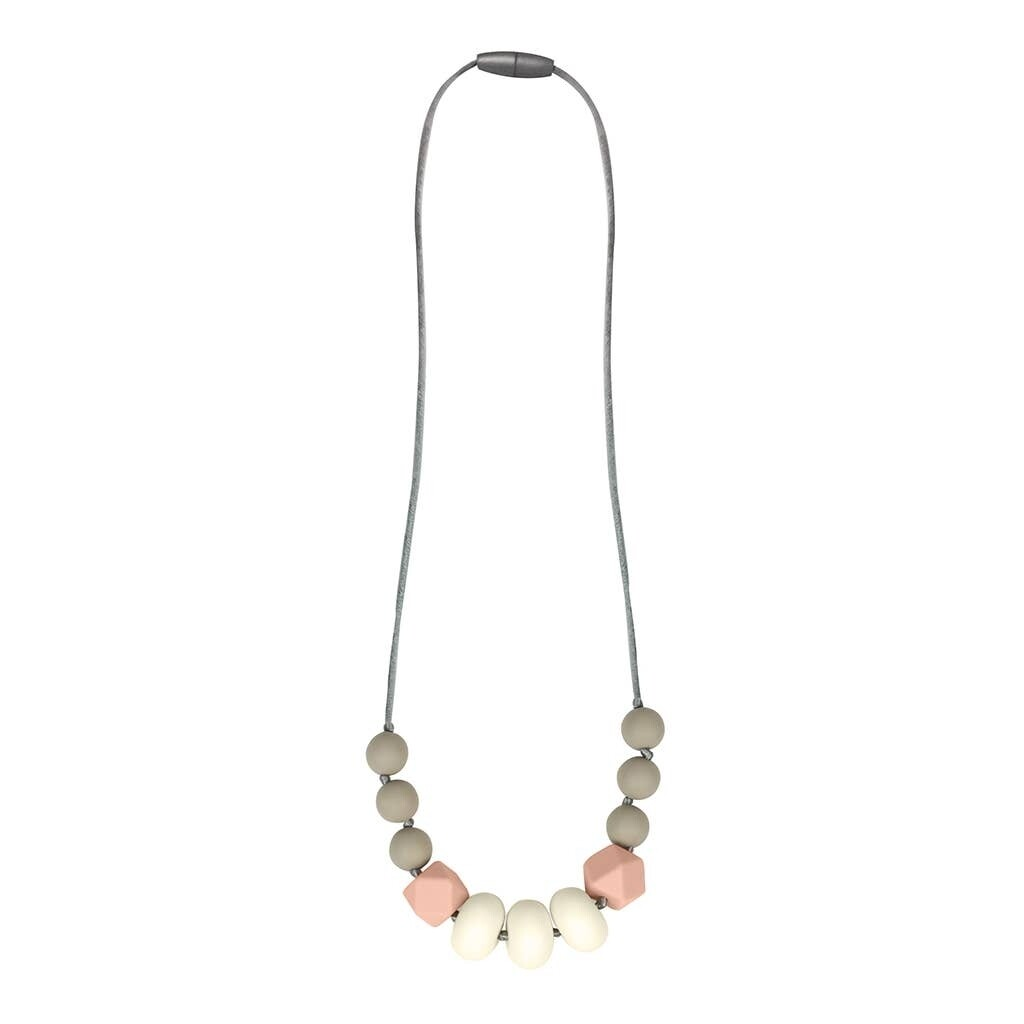 Itzy Teething Necklace Blush