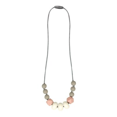 Itzy Ritzy Teething Necklace Blush