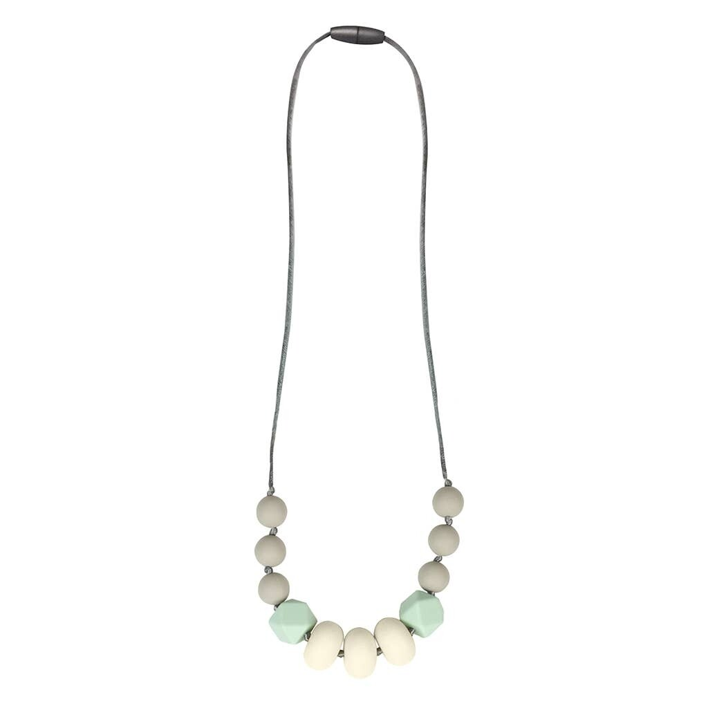Itzy Teething Necklace Mint